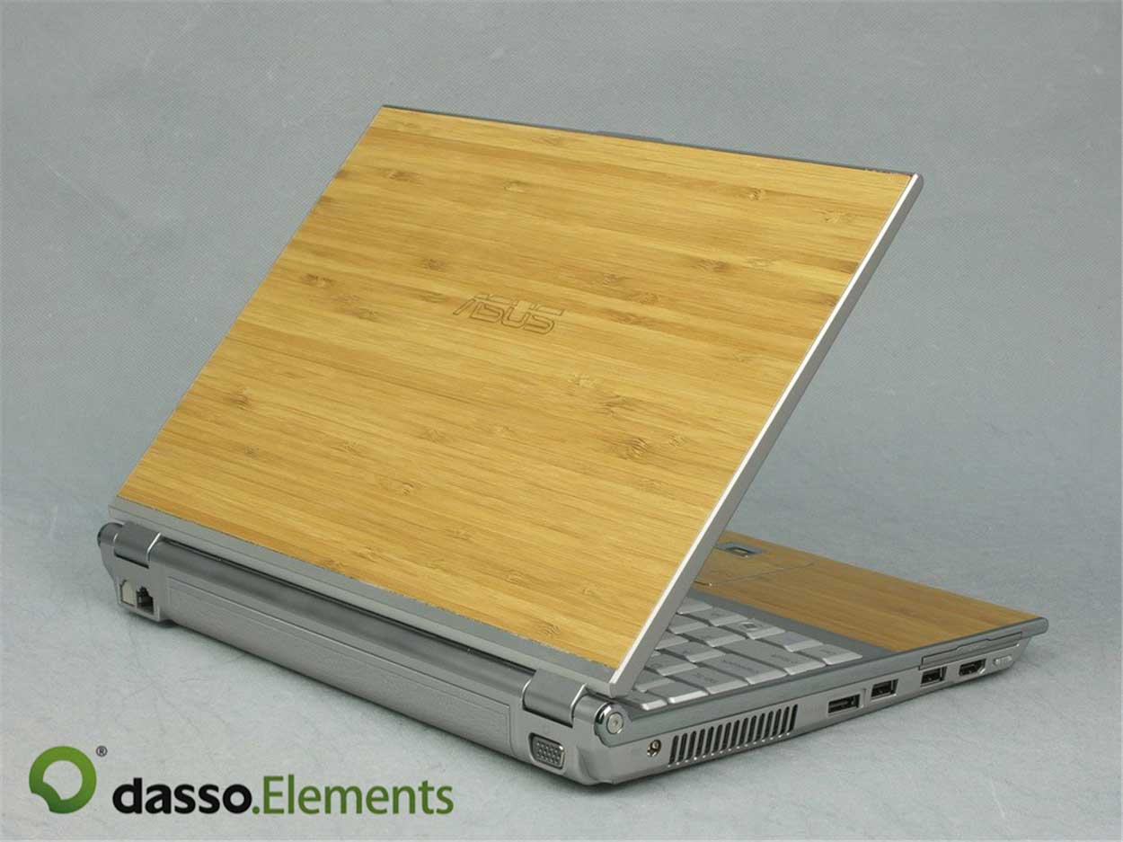 dasso.Elements bamboo laptop