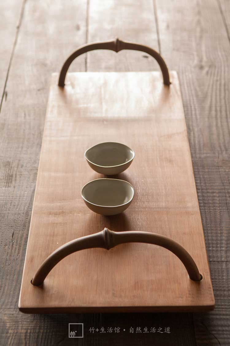dasso.Furnishings Bamboo Tea Serving Tray